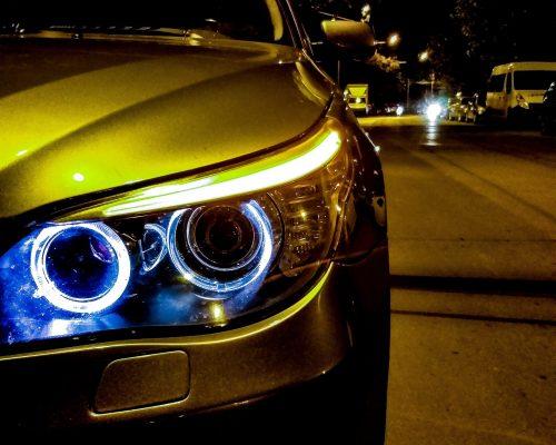 BMW e60 headlight Bukales Photo