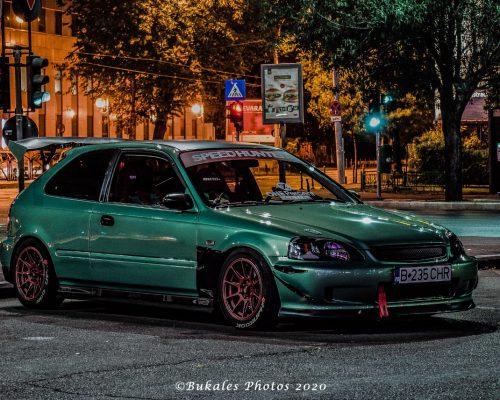 Honda Civic '99 side view Bukales Photos