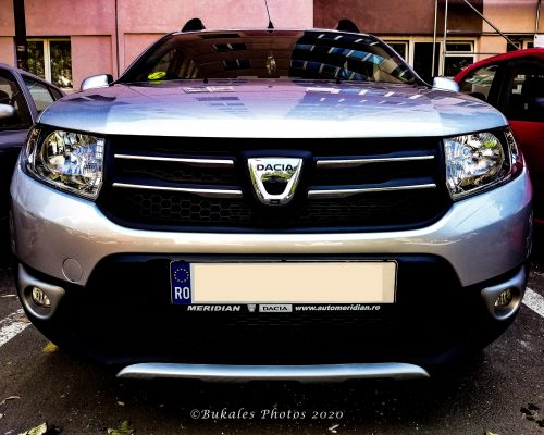 Dacia Sandero Stepway front view Bukales Photos